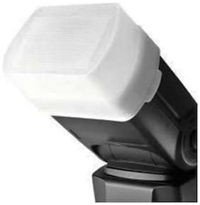 Cam cart universal flash bounce diffure cap sb_500 (WHITE)