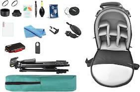 Camera Accessories kit Combo (Hood  Filter  Bag  Tripod  IR Remote tempred Glass etc.) Replacement for Nikon Cameras (D5600 AF-P 18-55 & AF-P 70-300)