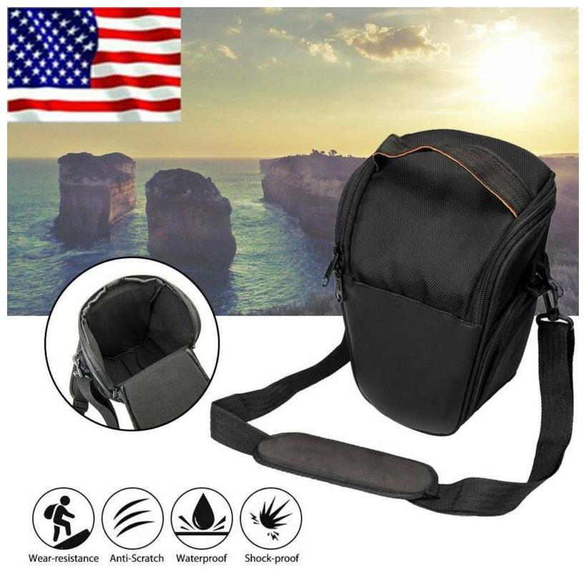 Camera bagTriangle Digital Camera bag Lens Shoulder Bag For Nikon Canon Sony New