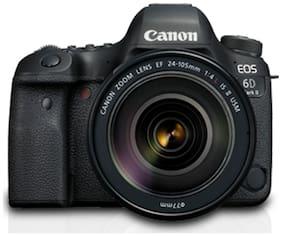 Canon EOS 6D Mark II Kit (EF24-105mm f/4L IS II USM) 26.2 MP DSLR Camera (Black)