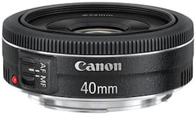 Canon EF 40 mm f/2.8 STM Lens (Black)