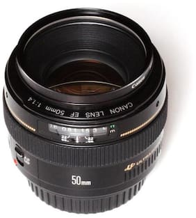 Canon EF 50 mm f/1.4 USM Lens (Black)