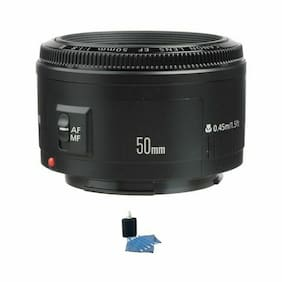 Canon EF 50mm f/1.8 II Autofocus Lens w/Cleaning Kit