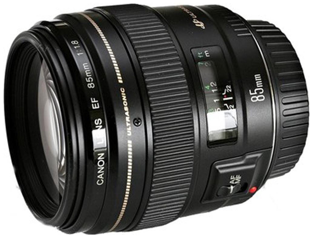 Canon EF 85 mm f/1.8 USM Lens  Black  by Camera Stores