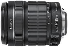 Canon EF-S 18 - 135 mm f/3.5-5.6 IS STM Lens (Black)