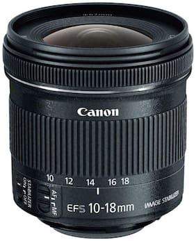 Canon EF-S 10-18 mm f/4.5-5.6 IS STM Lens (Black)