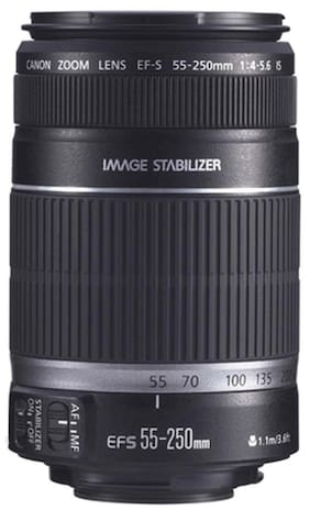Canon EF-S 55 - 250 mm f/4-5.6 IS II Lens (Black)