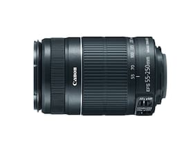 Canon EF-S 55-250mm f/4.0-5.6 IS II Lens, Black ~ Brand New in Box -HTF New