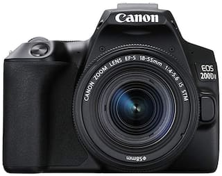Canon EOS 200D II Kit (EF-S18-55 IS STM) 24.1 MP DSLR Camera (Black)