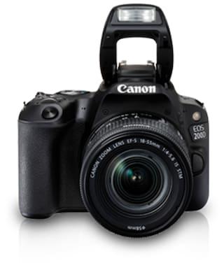 Canon EOS 200D Kit (EF-S18-55 IS STM) 24.2 MP DSLR Camera (Black)