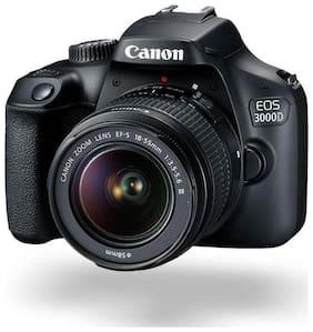 Canon EOS 3000D Kit (EF S18-55 IS II) 18 MP DSLR Camera (Black)