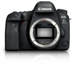 Canon EOS 6D Mark II (Body Only) 26.2 MP DSLR Camera(Black)