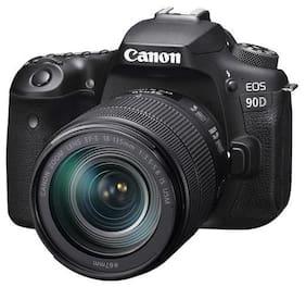 Canon EOS 90D Kit (18-135 mm Lens) 32.5 MP DSLR Camera (Black)