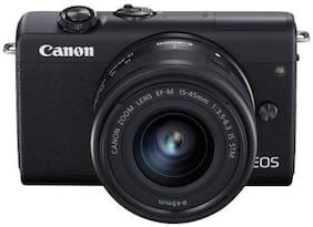 Canon EOS M200 Kit (EF-M15-45mm f/3.5-6.3 IS STM) 24.1 MP Mirrorless Camera (Black)