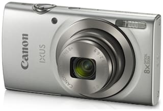 Canon IXUS 185 20 MP Point & Shoot Camera (Silver)