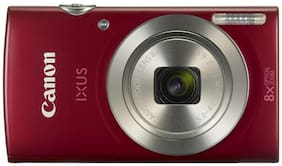 Canon IXUS 185 20 MP Point & Shoot Camera (Red)