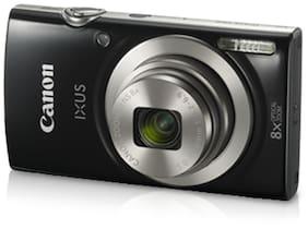 Canon IXUS 185 20 MP Point & Shoot Camera (Black) + 16 GB SDHC Card + Case