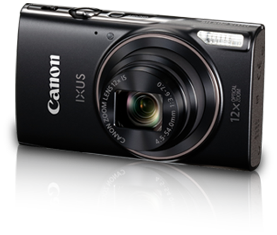 Canon IXUS 285 HS 20 MP Point   Shoot Camera  Black  by Phototrack