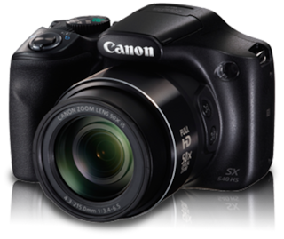 Canon PowerShot SX540 HS 20.3 MP Point & Shoot Camera (Black)