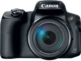 Canon PowerShot SX70 HS 20.3 MP Point and Shoot Camera (Black)