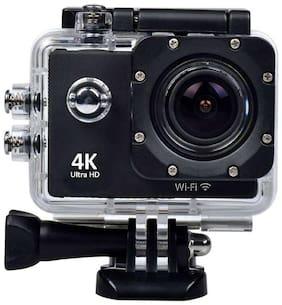 Captcha Ultra Hd Wi-Fi  12 MP Waterproof Sports Action Camera (Black)