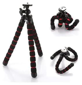 CHG Flexible Mini Tripod Stand with phone holder clip