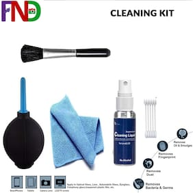 Essentials Professional 5-IN-1 Cleaning Kit for Cameras and Sensitive Electronics for Computers
