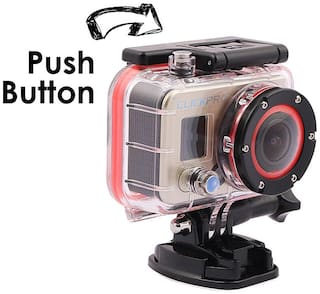 ClickPro Polar WiFi 12 MP Sports And Action Camera (Metallic Copper) With Free ClickPro Chest Mount