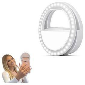 Crystal Digital 36 LED Selfie Ring Flash Light | Super Bright LED, for Smartphone, Tablets & Laptops