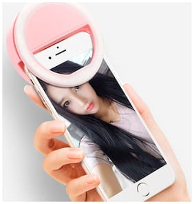 Crystal Digital 36W LED Beauty Selfie Light Universal Ring Shape with 3 Level Brightness Operation for All Smartphones Tabs