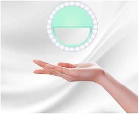 Crystal Digital LED Selfie Ring Light for Camera Smartphone YouTube Video Shooting
