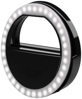 Crystal Digital Selfie Ring Light 3 Level of Brightness with 36 LED for Video Calling Photography (iPad Series Tablets iPhone Android Smart Phones)