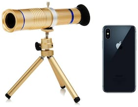Crystal Digital  20X Zoom Mobile Telescope Lens kit for All Mobile Camera with Tripod   DSLR Blur Background Effect [ Android & iOS Devices