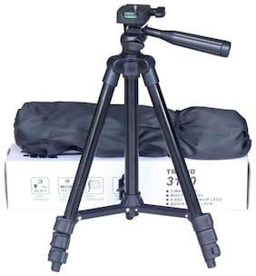 Crystal Digital 3120 Tripod for DSLR  Action Cameras Mobile Phones with Holder for Mobiles