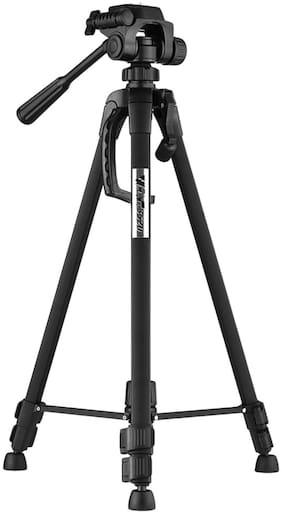 CHG  3120 Foldable Camera Tripod with Mobile Clip Holder Bracket (Black)