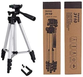 Crystal Digital Tripod 3110 Portable Travel Lightweight Aluminum Tripod for Mobile Phone with Nylon Carry Case