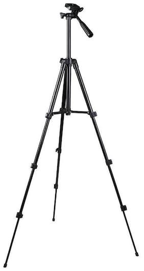 Crystal Digital Portable Camera 3120 Tripod with 3 Dimensional Head and Quick Release Plate for Cameras Camcorders