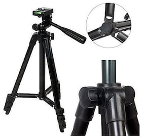 TSV Fully Flexible Mount Cum 3120 Tripod with 3-Section Lever-Lock Legs for Most Video Cameras