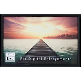 DAX Digital Enlargement Black Wood Frame (n16817bt)