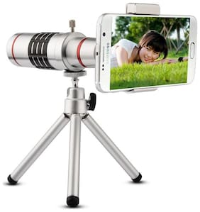 Designed For Iphone 6 TSV 18X Extra Zoomer Optical Zoom Lens Telescope With Tripod flexible legs 5 Layers Professional Grade Optical Glass