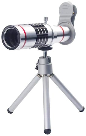 Designed For J7 Prime TSV 18X Zoom Universal Mobile Phone Telescope Camera Lens with Tripod + Adjustable Holder