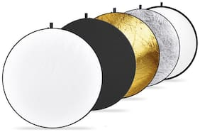 Digiom 5-in-1 Collapsible Photo Light Reflector 42 inch (110 cm) for Photography