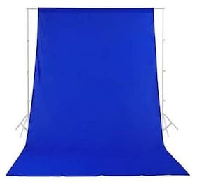 Digiom 8 x12 FT Black LEKERA Backdrop Photo Light Studio Photography Background (Blue)