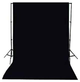 Digiom 8 x12 FT Black LEKERA Backdrop Photo Light Studio Photography Background (Black)