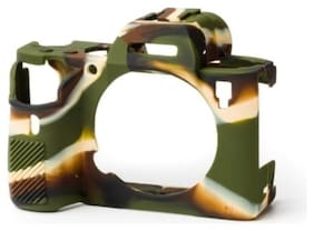 Digiom Protective Silicon Camera Cover/Case For A9/A73/A7R3 Camouflage