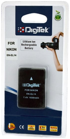 Digitek Nikon Compatible EN-EL14 Rechargable Battery