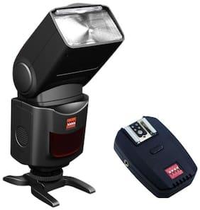 Digitek Speedlite DFL-077 Flash with 2.4G inbuilt Receiver (Black)