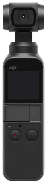 DJI OSMO Pocket Handheld 3 axis Gimbal with Integrated 12 MP Camera (Black)