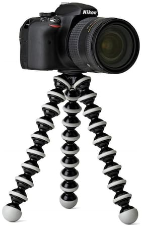 Doitshop Gorilla Fully Flexible Foldable Octopus Medium Size Tripod Stand For Mobile Smartphones, Dslr Cameras