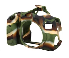 easyCover Armor Protective Skin for Canon EOS Rebel T4i / EOS 650D- (Camouflage)